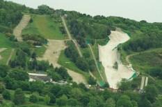 old functioning ski village