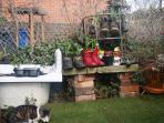 shoe plants and jacket
