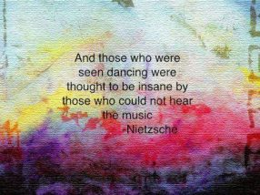 and those who were seen dancing