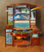 chest of drawers of geology and weather