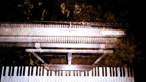 piano inner organs modified vintage